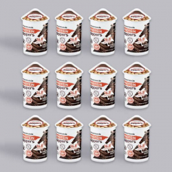 Maximuscle Chocolate Hazelnut Protein Dip Pot - 12 x 52g