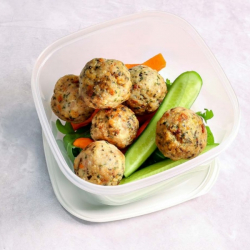 Italian Chicken Meatball Snack Pot