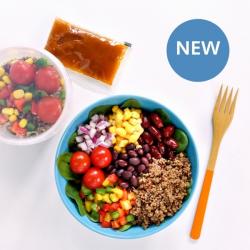 Mexican Bean Salad Pot - 9.2g Protein & 209 Kcals