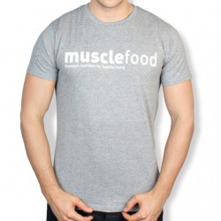 Muscle Food Fit T-Shirt - Grey
