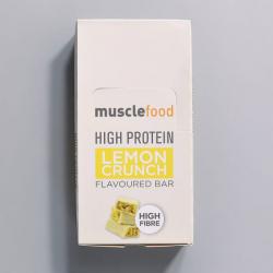 High Protein Lemon Crunch Bar - 12 Pack