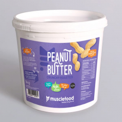 Crunchy Roasted Peanut Butter - 1kg
