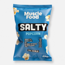 MuscleFood Salty Popcorn 20g