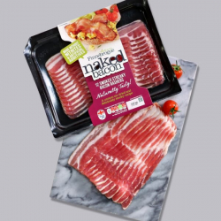 Finnebrogue Naked Smoked Streaky Bacon 200g
