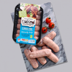 Finnebrogue Naked Ultimate Pork Sausage 400g