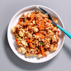 BBQ Chicken & Rice Pot - 40g Protein & 321 kcal