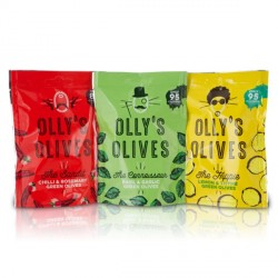 Olly's Unpasteurised Greek Olives - 82 Kcals