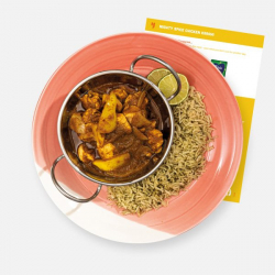 Mighty Spice Chicken Karahi with Lime and Coriander Rice Recipe Kit