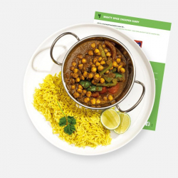 Mighty Spice Chickpea Curry with Pilau Rice Recipe Kit