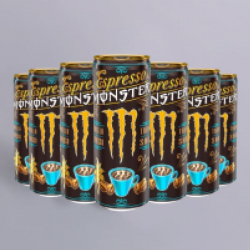Monster Energy Vanilla Espresso - 12 x 250ml