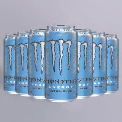 Monster Energy Ultra Blue - 12 x 500ml