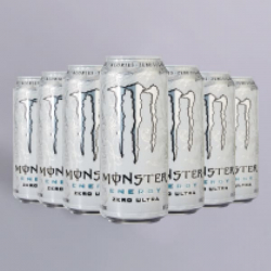 Monster Energy Ultra White - 12 x 500ml