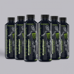 Monster Hydro Sport Striker 6 x 650ml