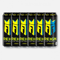 Lemon Headz Reign Zero Calorie BCAA Energy Drink 6 x 500ml
