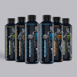 NEW Monster Hydro Sport Mixed Bundle 6 x 650ml