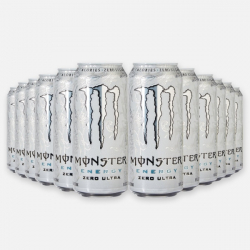 Monster Energy Ultra White - 500ml- 12 x 500ml