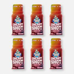 Moose Juice Energy Shot - Rainbow Candy 6 x 60ml