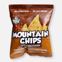 BBQ Muscle Moose High Protein Mountain Chips - 23g