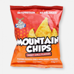 Sweet Chilli Muscle Moose High Protein Mountain Chips - 23g