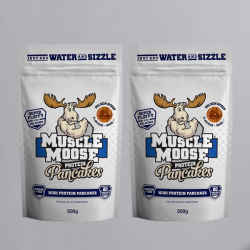 Muscle Moose Protein Pancakes - 2 x 500g Golden Syrup