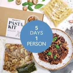 Mushroom Pesto Pasta Kit - Meals For The Week 1 Person