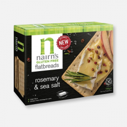 Nairn's Rosemary & Sea Salt Gluten Free Flatbreads 150g
