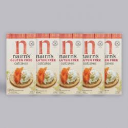 5 x Nairn's Gluten Free Oatcakes 213g