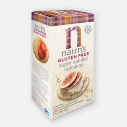 Nairn's Gluten Free Super Seeded Oatcakes 180g