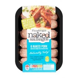 Naked Ultimate Pork Sausages - 2 Packs JUST £4.45