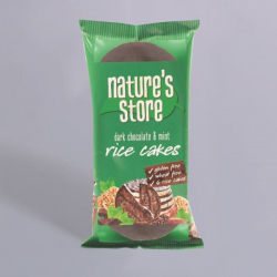 Nature's Store Dark Chocolate and Mint Rice Cakes