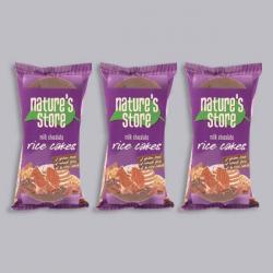 Nature's Store Milk Chocolate Rice Cakes 3 x 100g