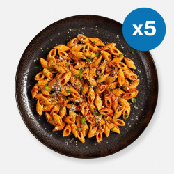 Nduja Pork Pasta Kit - 395 kcal - Meals For The Week 1 Person