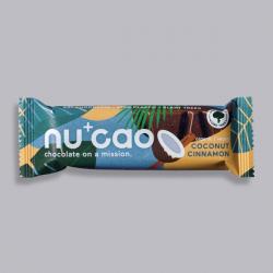 Organic Chocolate Bar - Coconut Cinnamon - nucao