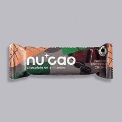 Organic Chocolate Bar - Espresso Crunch - nucao
