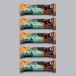 5 x Organic Chocolate Bar - Roasted Hazelnuts - nucao