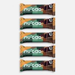 5 x Organic Chocolate Bar - Espresso Crunch - nucao