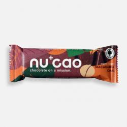 Organic Chocolate Bar - Macadamia Chai - nucao