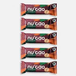 5 x Organic Chocolate Bar - Macadamia Chai - nucao