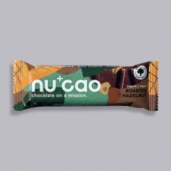 Organic Chocolate Bar - Roasted Hazelnuts - nucao