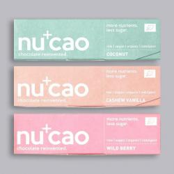 nucao Vegan Protein Bar Bundle. 3 for 2!
