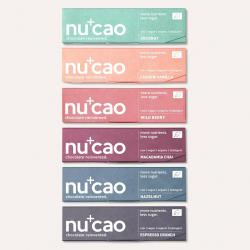 Nucao Vegan Chocolate Bars - 40g