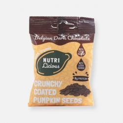 Nutrilicious Dark Chocolate Organic Pumpkin Seeds - 30g ****