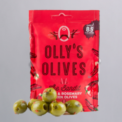Olly's Olives Snack Pouches - Chilli & Rosemary