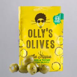 Olly's Olives Snack Pouches - Lemon & Thyme