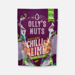 Olly's Nuts - Chilli & Lime Mix 35g