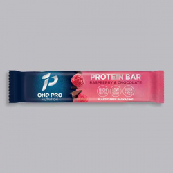 High Protein Vegan Bar - Raspberry and Chocolate