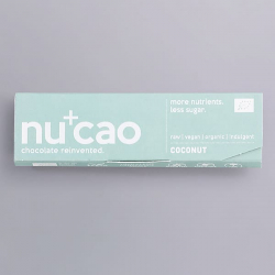 Organic Chocolate Bar - Coconut Cinnamon - nucao