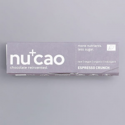 Organic Chocolate Bar - Espresso Crunch - nucao