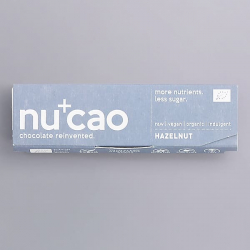 Organic Chocolate Bar - Roasted Hazelnuts - nucao