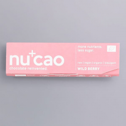 Organic Chocolate Bar - Wild Berry - nucao